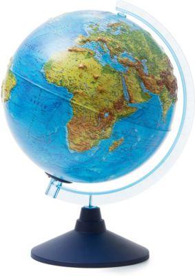 Глобус Земли Globen физико-политический рельефный с подсветкой, 250мм, артикул:8075095 - Глобусы