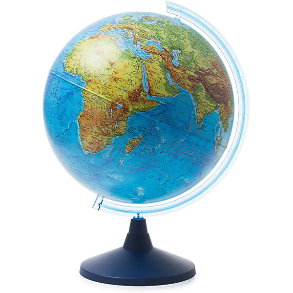 Globen Глобус Земли Globen физический, 400мм глобус globen физический рельефный