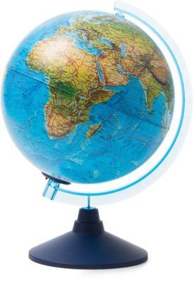 Глобус Земли Globen ландшафтный с подсветкой, 250мм, артикул:8075101 - Глобусы