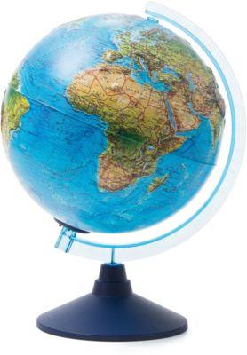 Глобус Земли Globen ландшафтный рельефный с подсветкой, 250мм, артикул:8075107 - Глобусы
