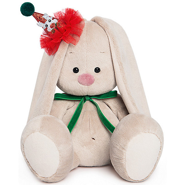 Мягкая игрушка Budi Basa Зайка Ми в колпачке с зеленым бантиком, 18 смМягкие игрушки зайцы и кролики<br>Характеристики товара:<br><br>• возраст: от 3 лет;<br>• материал: текстиль, искусственный мех;<br>• высота игрушки: 18 см;<br>• размер упаковки: 24х14х15 см;<br>• вес упаковки: 320 гр.;<br>• страна производитель: Россия.<br><br>Мягкая игрушка «Зайка Ми в колпачке с зеленым бантиком» Budi Basa — очаровательный пушистый зайчонок с длинными ушками. Игрушка выполнена из качественного безопасного материала, настолько приятного и мягкого, что ребенок будет брать с собой зайку в кроватку и спать в обнимку.<br><br>Мягкую игрушку «Зайка Ми в колпачке с зеленым бантиком» Budi Basa можно приобрести в нашем интернет-магазине.<br>Ширина мм: 150; Глубина мм: 140; Высота мм: 150; Вес г: 333; Цвет: бежевый; Возраст от месяцев: 36; Возраст до месяцев: 168; Пол: Унисекс; Возраст: Детский; SKU: 8076071;