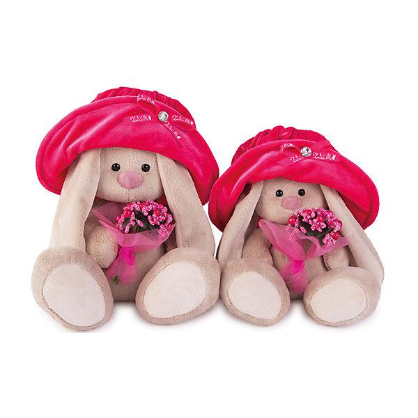 Мягкая игрушка Budi Basa Зайка Ми в бархатной шляпе с букетом, 18 смМягкие игрушки зайцы и кролики<br>Характеристики товара:<br><br>• возраст: от 3 лет;<br>• материал: текстиль, искусственный мех;<br>• высота игрушки: 18 см;<br>• размер упаковки: 24х14х15 см;<br>• вес упаковки: 320 гр.;<br>• страна производитель: Россия.<br><br>Мягкая игрушка «Зайка Ми в бархатной шляпе с букетом» Budi Basa — очаровательный пушистый зайчонок с длинными ушками. Игрушка выполнена из качественного безопасного материала, настолько приятного и мягкого, что ребенок будет брать с собой зайку в кроватку и спать в обнимку.<br><br>Мягкую игрушку «Зайка Ми в бархатной шляпе с букетом» Budi Basa можно приобрести в нашем интернет-магазине.<br>Ширина мм: 150; Глубина мм: 140; Высота мм: 150; Вес г: 333; Цвет: бежевый; Возраст от месяцев: 36; Возраст до месяцев: 168; Пол: Унисекс; Возраст: Детский; SKU: 8076077;