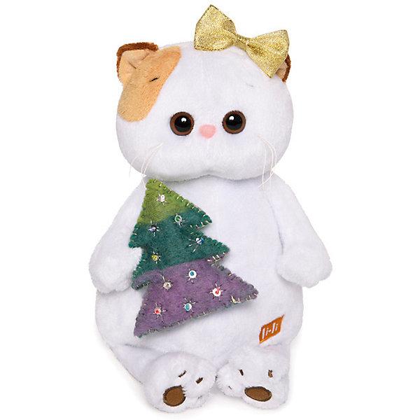 Мягкая игрушка Budi Basa Кошечка Ли-Ли с елочкой, 24 см фото
