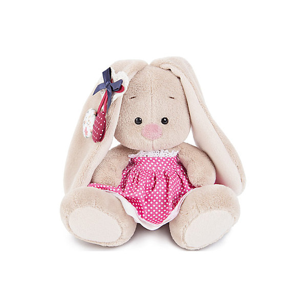 Budi Basa Мягкая игрушка Budi Basa Зайка Ми в розовой юбочке и с вишней, 15 см вкуснотеево йогурт с вишней 3 5