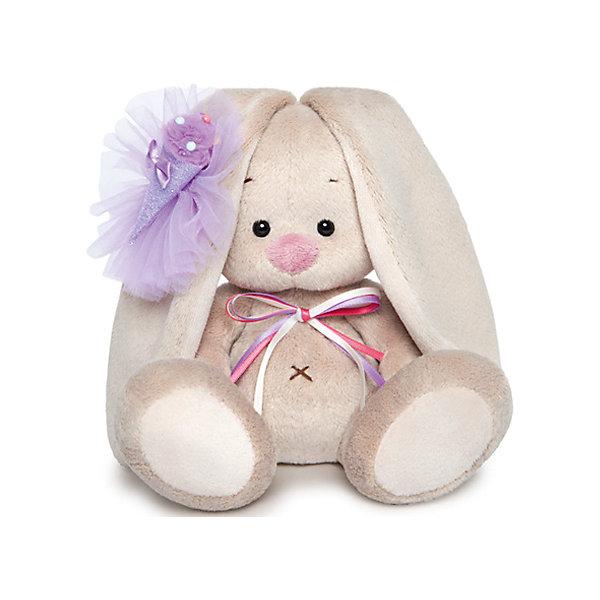 Budi Basa Мягкая игрушка Зайка Ми с фиолетовым мороженым, 15 см