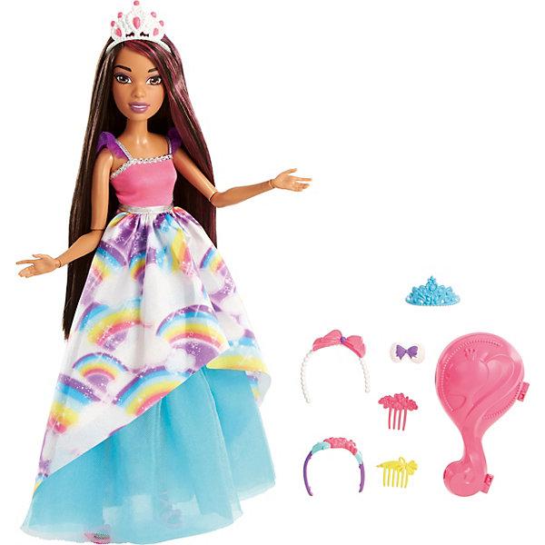 Mattel Barbie - кукла из серии Dreamtopia  темными волосами