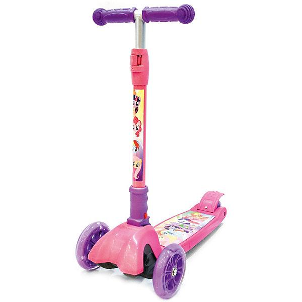 Купить Трёхколёсный самокат Next My Little Pony , розовый, Китай, разноцветный, Унисекс
