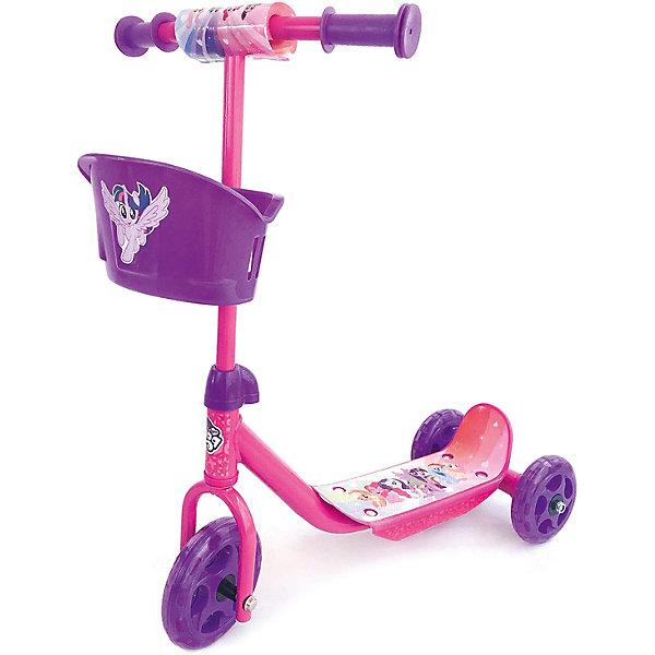 цена Next Трехколесный самокат Next My Little Pony, розовый