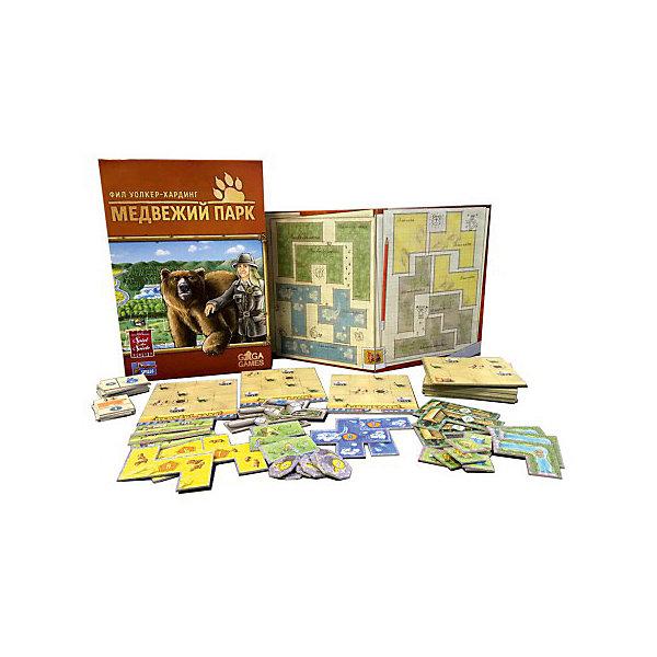 Настольная игра GaGa Games Медвежий паркНастольные игры ходилки<br>Характеристики:<br><br>• возраст: от 8 лет;<br>• материал: картон, пластик;<br>• комплектация: 52 участка парковой зоны, 16 строительных площадок, 30 достижений, 16 медвежьих статуй, 28 участков павильонов, 12 участков вольеров, 1 поле хранения;<br>• количество игроков: 2-4;<br>• время игры: 10-20 мин;<br>• вес: 270 гр;<br>• размер: 19х7х100 см;<br>• бренд: GaGa Games.<br><br>Настольная игра GaGa Games «Медвежий парк» - новый хит Фила Уокер-Хардинга, Игра Года в Австрии и одна из лучших семейных игр, если верить рейтингу самого знающего портала BoardGameGeek. Всемирное признание опытных и не очень настольщиков закономерно: Медвежий Парк — уютная, многогранная, красивая и в меру азартная игра.<br><br>Настольную  игру GaGa Games «Медвежий парк» можно купить в нашем интернет-магазине.<br>Ширина мм: 190; Глубина мм: 70; Высота мм: 1000; Вес г: 270; Возраст от месяцев: 96; Возраст до месяцев: 2147483647; Пол: Унисекс; Возраст: Детский; SKU: 8264359;