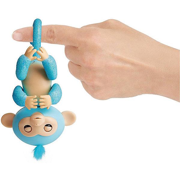 Интерактивная обезьянка Fingerlings Амелия, 12 см (изумрудная) WowWeeИнтерактивные животные<br>Характеристики:<br><br>• возраст: от 5 лет;<br>• размер: 15х22,5х6 см;<br>• высота: 12 см;<br>• цвет: изумрудный;<br>• материал: пластмасса, резина;<br>• тип батарейки: 4 батарейки LR44;<br>• комплектация: входят в комплект;<br>• страна изготовления: Китай;<br>• бренд: WowWee.<br><br>FINGERLINGS «Интерактивная обезьянка Амелия» (изумрудная), 12 см – «живая» веселая обезьянка, которая умеет цепляться за палец или закрепляться на любой поверхности с помощью хвостика. Эти малыши, выполненные на базе последних разработок в мире игрушечной робототехники, обязательно удивят и очаруют ребенка. Игрушка подходит для детей от 5 лет. Для работы потребуются 4 батарейки LR44 (входят в комплект).<br><br>Обезьянки умеют реагировать на движение и голос, в ответ на прикосновение выполнять более 40 различных действий, издавать более 50 звуковых сигналов, цепляться лапками за палец или любые другие мелкие предметы, висеть головой вниз, закрепляясь хвостиком за любую поверхность, общаться с другими обезьянками «Fingerlings», посылать воздушные поцелуи, если подуть в мордочку.<br><br>FINGERLINGS «Интерактивную обезьянку Амелия» можно купить в нашем интернет-магазине.<br>Ширина мм: 226; Глубина мм: 152; Высота мм: 60; Вес г: 181; Возраст от месяцев: 60; Возраст до месяцев: 108; Пол: Унисекс; Возраст: Детский; SKU: 8265862;
