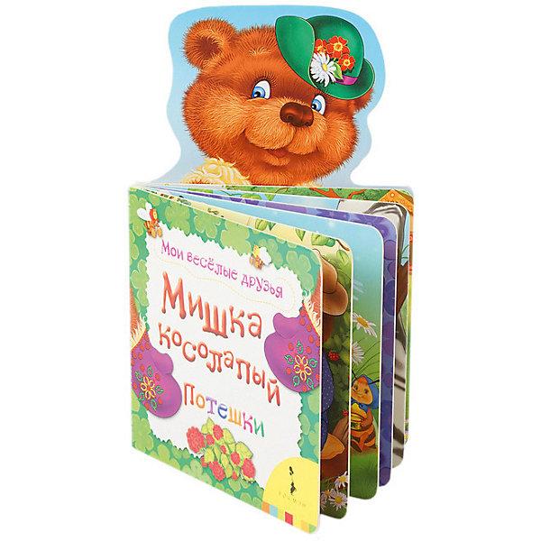 Потешки Мои весёлые друзья Мишка косолапыйПотешки, скороговорки, загадки<br>Характеристики:<br><br>• возраст: от 0 лет;<br>• материал: бумага;<br>• ISBN: 9785353075677;<br>• количество страниц: 8 (картон);<br>• иллюстрации: цветные;<br>• вес: 63 гр;<br>• размер: 21х12,7х0,5 см;<br>• издательство: Росмэн.<br><br>Книга «Мишка косолапый. Мои веселые друзья» - это веселые детские песенки, сказки, потешки и стихи. Эти книжки интересно рассматривать вместе с ребенком дома или в дороге - яркие картинки и забавные персонажи увлекут вашего малыша надолго. Книги серии Мои веселые друзья станут добрыми попутчиками для нескольких поколений вашей семьи.<br><br>Книгу  «Мишка косолапый. Мои веселые друзья» можно купить в нашем интернет-магазине.<br>Ширина мм: 210; Глубина мм: 125; Высота мм: 5; Вес г: 60; Возраст от месяцев: 0; Возраст до месяцев: 60; Пол: Унисекс; Возраст: Детский; SKU: 8265922;