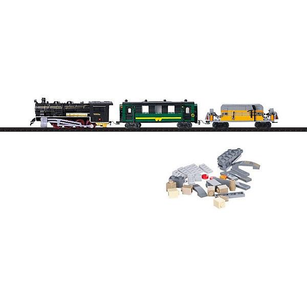 Taigen Железная дорога-конструктор Taigen, 350 деталей конструктор dolu моя первая железная дорога 5081