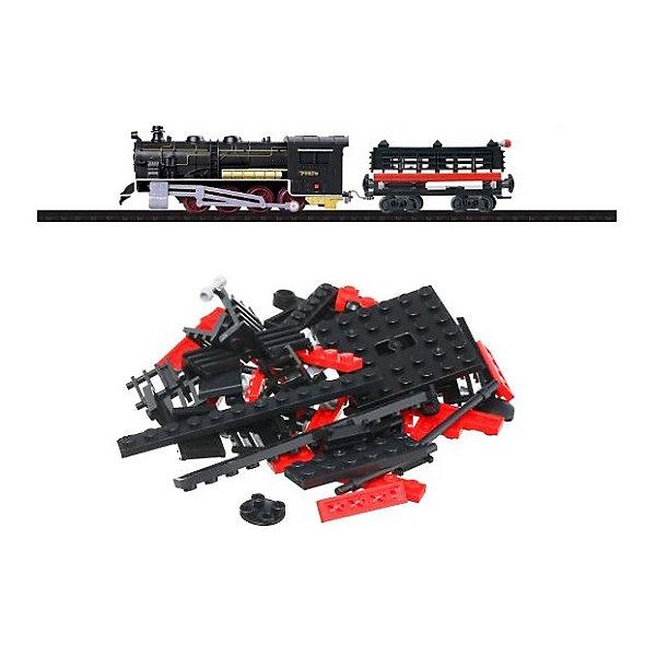 Taigen Железная дорога-конструктор Taigen, 120 деталей конструктор dolu моя первая железная дорога 5081