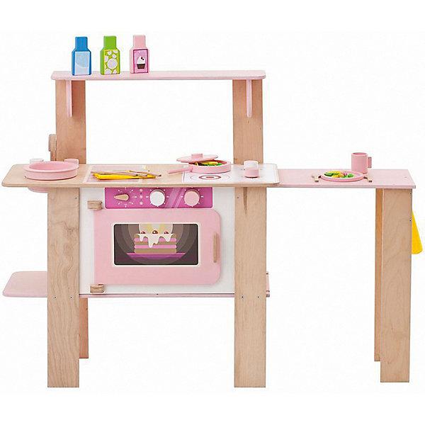 Купить Кухня Паремо Ванильный смузи , 16 предметов, PAREMO, Россия, розовый/белый, Женский