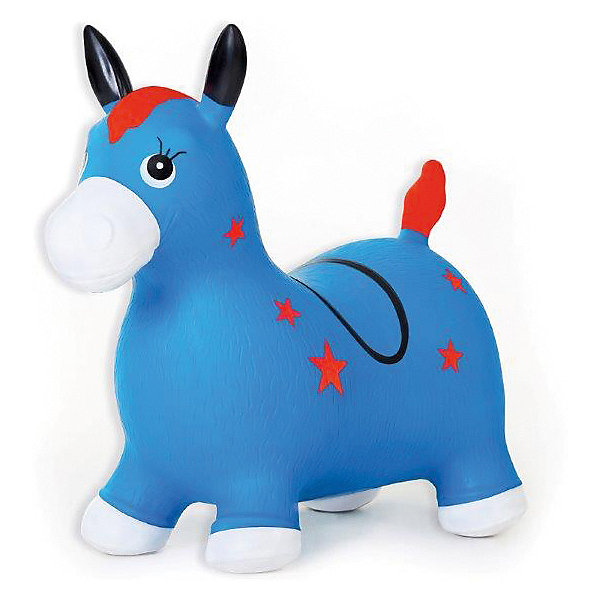Fresh Trend Лошадка надувная-попрыгун Fresh Trend, синяя