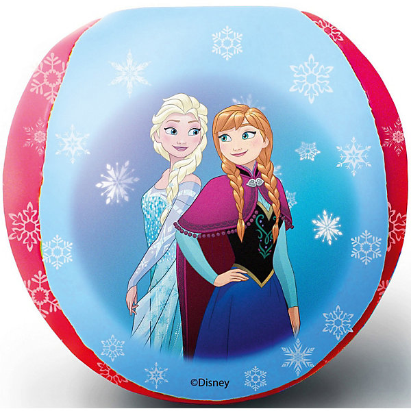 Fresh Trend Мяч мягкий Fresh Trend Холодное сердце, 10 см мяч fresh trend 23 см принцессы желтый