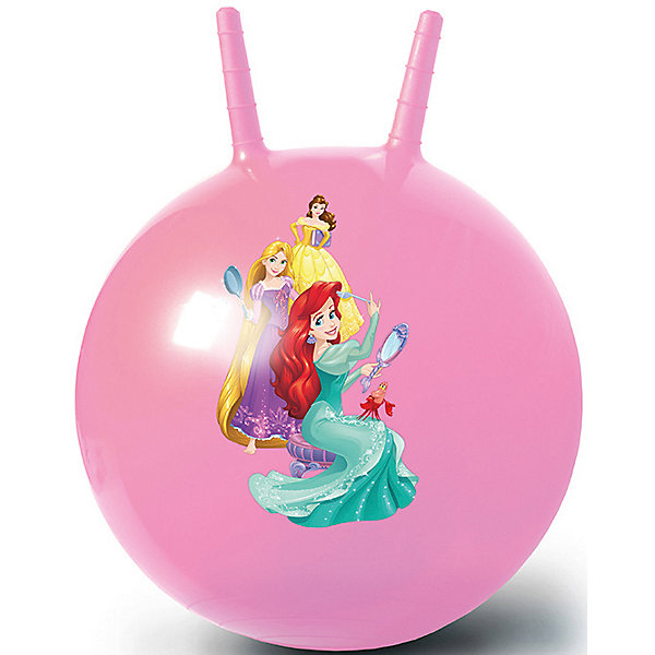 Fresh Trend Мяч-попрыгун Fresh Trend Принцессы Дисней, 50 см stantoma игрушка попрыгун мяч с рогами цвет красный 55 см