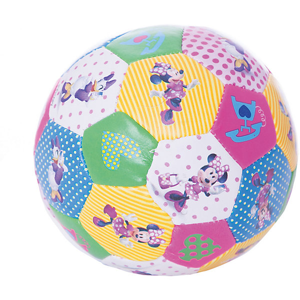 Fresh Trend Мяч мягкий Fresh Trend, 10 см, Минни мяч fresh trend 23 см принцессы желтый