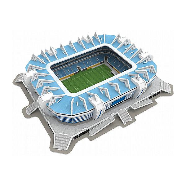 3D пазл IQ-puzzle Калининград Стадион, 108 элементов3D пазлы<br>Характеристики товара:<br><br>• возраст: от 6 лет;<br>• количество деталей: 108;<br>• размер в собранном виде: 32,1х26,3х7,2 см.;<br>• материал: пенокартон с элементами из металла, полимерных материалов и резины;<br>• упаковка: картонная каробка;<br>• размер упаковки: 30х21х3,3 см.;<br>• вес: 510 гр.;<br>• бренд, страна бренда: IQ PUZZLE, Россия<br><br>3D-пазл «Калининград Арена», состоящий из 108 элементов, придется по душе всем любителям футбола или кто просто увлечен созданием объемных моделей уникальных строений. Детали набора отлично проработаны, идеально и легко собирается без использования дополнительных инструментов, отличаются непревзойденным дизайном и рисунком.<br>Собранный макет можно поставить на видное место, он станет замечательным дополнением для любого интерьера. <br><br>Конструирование пазлов способствует развитию внимания, зрительного восприятия, логического и образного мышления, мелкой моторики рук. Тренирует навык восприятия новой информации, расширяет кругозор и обогащает внутренний мир ребенка.<br><br>3D-пазл «Калининград Арена», 108 деталей, IQ PUZZLE можно купить в нашем интернет-магазине.<br>Ширина мм: 297; Глубина мм: 33; Высота мм: 210; Вес г: 511; Возраст от месяцев: 60; Возраст до месяцев: 2147483647; Пол: Унисекс; Возраст: Детский; SKU: 8271221;