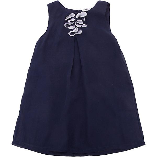 Платье 3pommes для девочкиПлатья и сарафаны<br>Характеристики товара:<br><br>• цвет: синий<br>• состав ткани: 100% полиэстер<br>• подкладка: 100% хлопок<br>• сезон: круглый год<br>• особенности модели: нарядная<br>• застежка: молния<br>• без рукавов<br>• страна бренда: Франция<br><br>Синее платье для детей выполнено из качественной ткани, подкладка - из хлопка, который позволяет телу дышать и не вызывает аллергии. Нарядное платье для ребенка от известного бренда 3 Pommes из Франции отличается модным в этом сезоне силуэтом и эффектным декором. Это детское платье декорировано объемной аппликацией, который делает его оригинальной и стильной вещью. <br><br>Платье 3 Pommes (3 Поммис) для девочки можно купить в нашем интернет-магазине.<br>Ширина мм: 236; Глубина мм: 16; Высота мм: 184; Вес г: 177; Цвет: темно-синий; Возраст от месяцев: 12; Возраст до месяцев: 15; Пол: Женский; Возраст: Детский; Размер: 80,86,74,98,92; SKU: 8274078;
