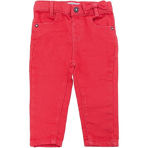 Брюки 3 Pommes для девочкиДжинсы и брючки<br>Характеристики товара:<br><br>• цвет: красный<br>• состав ткани: 89% хлопок, 10% полиэстер, 1% эластан<br>• сезон: демисезон<br>• застежка: пуговица<br>• шлевки<br>• страна бренда: Франция<br><br>Эти красные брюки для детей - классического прямого фасона, украшены бантом. Такие брюки сделаны преимущественно из хлопковой ткани, которая обеспечивает доступ воздуха и не вызывает аллергии. Удобные брюки для ребенка от популярного бренда из Франции 3 Pommes отличаются высоким качеством и стильным фасоном. <br><br>Брюки 3 Pommes (3 Поммис) для девочки можно купить в нашем интернет-магазине.<br>Ширина мм: 215; Глубина мм: 88; Высота мм: 191; Вес г: 336; Цвет: разноцветный; Возраст от месяцев: 6; Возраст до месяцев: 9; Пол: Женский; Возраст: Детский; Размер: 74,98,92,86,80; SKU: 8274471;