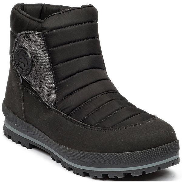 Сапоги Alaska Originale для мальчикаСапоги<br>Характеристики товара:<br><br>• цвет: чёрный;<br>• внешний материал: текстиль, искусственный велюр;<br>• внутренний материал: натуральная шерсть;<br>• стелька: натуральная шерсть;<br>• подошва: полиуретан;<br>• сезон: зима;<br>• температурный режим: от -5 до -25С;<br>• застёжка: липучка сбоку;<br>• мембрана Alaska-Tex: водо- и ветроотталкивающая, позволяет коже дышать;<br>• дополнительная водонепроницаемость благодаря пропитке верха Waterproof;<br>• во всех сапогах Alaska Originale до 27 размера включительно внутренний материал – натуральная шерсть, начиная с 28 размера – искусственный мех;<br>• два слоя утеплителя, один из которых флисовый - для максимального тепла;<br>• трёхслойная стелька с натуральным ворсом;<br>• слой теплоотражающей фольги в стельке;<br>• сверхлёгкая подошва;<br>• усиленный защищённый мыс;<br>• страна бренда: Италия.<br><br>Зимние сапоги на липучке. Такие сапожки обеспечат необходимый для активного отдыха комфорт, а мембранный слой позволит ножкам оставаться сухими: он выводит наружу лишнюю влагу, не пропуская жидкости внутрь. Сапожки легко надеваются и снимаются, отлично сидят на ноге. <br><br>Сапоги Alaska Originale (Аляска Ориджинал) можно купить в нашем интернет-магазине.<br>Ширина мм: 257; Глубина мм: 180; Высота мм: 130; Вес г: 420; Цвет: черный; Возраст от месяцев: 168; Возраст до месяцев: 1188; Пол: Мужской; Возраст: Детский; Размер: 39,40; SKU: 8276230;