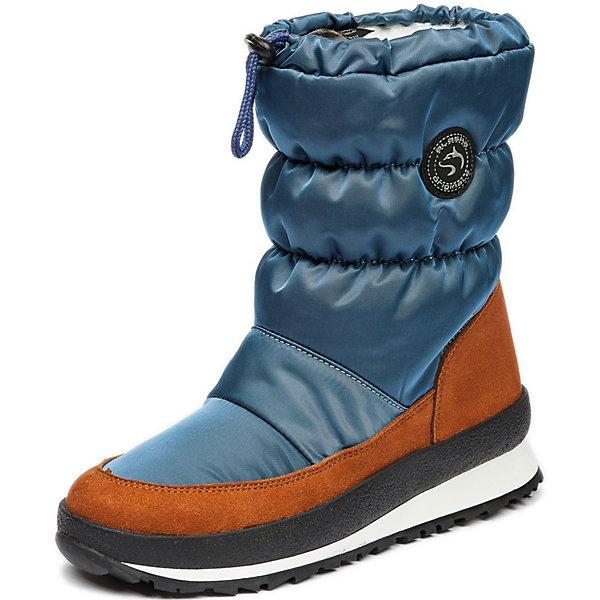 Сапоги Alaska OriginaleСапоги<br>Характеристики товара:<br><br>• цвет: голубой;<br>• внешний материал: текстиль, искусственный велюр;<br>• внутренний материал: натуральная шерсть;<br>• стелька: натуральная шерсть;<br>• подошва: полиуретан;<br>• сезон: зима;<br>• температурный режим: от -5 до -25С;<br>• застёжка: шнурок-утяжка по верху сапог;<br>• мембрана Alaska-Tex: водо- и ветроотталкивающая, позволяет коже дышать;<br>• дополнительная водонепроницаемость благодаря пропитке верха Waterproof;<br>• во всех сапогах Alaska Originale до 27 размера включительно внутренний материал – натуральная шерсть, начиная с 28 размера – искусственный мех;<br>• слой теплоотражающей фольги в стельке;<br>• сверхлёгкая подошва;<br>• противоскользящий протектор;<br>• усиленный защищённый мыс;<br>• страна бренда: Италия.<br><br>Эти зимние сапоги легко надеваются и снимаются. Мембранная обувь позволяет ногам дышать, при этом призвана защитить их от ветра, холода и влаги.<br>Продукция от популярной компании Alaska Originale - это высокотехнологичное производство и европейский дизайнеры. В каждой модели обуви проработаны все нюансы для обеспечения высокой степени комфорта.<br><br>Сапоги Alaska Originale (Аляска Ориджинал) можно купить в нашем интернет-магазине.<br>Ширина мм: 257; Глубина мм: 180; Высота мм: 130; Вес г: 420; Цвет: синий; Возраст от месяцев: 156; Возраст до месяцев: 168; Пол: Унисекс; Возраст: Детский; Размер: 37; SKU: 8276259;