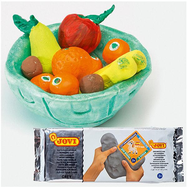 Паста для моделирования JOVI, серыйМасса для лепки<br>Характеристики:<br><br>• возраст: от 2 лет;<br>• материал: паста (пластика); <br>• цвет: серый;  <br>• размер упаковки: 21х9,5х3 см.;<br>• вес в упаковке: 1 кг;<br>• упаковка товара: вакуумный пакет; <br>• страна бренда: Испания.<br><br>Паста JOVI (Джови) для лепки и моделирования, отвердевает на воздухе. После высыхания становится очень прочной. Работая с пастой для лепки ребенок развивает ловкость рук, общую моторику, воображение.<br><br>Пасту для моделирования JOVI (Джови), серый можно купить в нашем интернет-магазине.<br>Ширина мм: 210; Глубина мм: 95; Высота мм: 30; Вес г: 1006; Возраст от месяцев: 36; Возраст до месяцев: 2147483647; Пол: Унисекс; Возраст: Детский; SKU: 8276430;