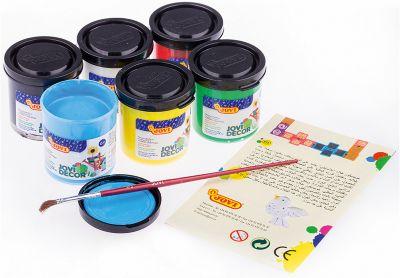 Акриловые краски JOVI, 6 цветов, артикул:8276446 - Рисование и лепка