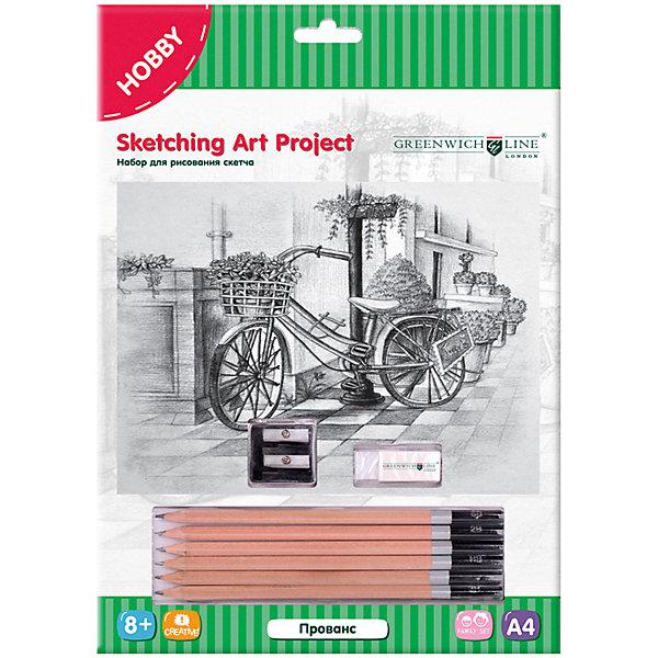 Greenwich Line Набор для рисования скетча Greenwich Line «Прованс» цена