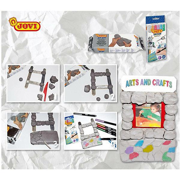 Паста для моделирования JOVI, серыйМасса для лепки<br>Характеристики:<br><br>• возраст: от 2 лет;<br>• материал: паста (пластика); <br>• цвет: серый;  <br>• размер упаковки: 21х9,5х3 см.;<br>• вес в упаковке: 1 кг;<br>• упаковка товара: вакуумный пакет; <br>• страна бренда: Испания.<br><br>Паста JOVI (Джови) для лепки и моделирования, отвердевает на воздухе. После высыхания становится очень прочной. Работая с пастой для лепки ребенок развивает ловкость рук, общую моторику, воображение.<br><br>Пасту для моделирования JOVI (Джови), серый можно купить в нашем интернет-магазине.<br>Ширина мм: 165; Глубина мм: 65; Высота мм: 20; Вес г: 260; Возраст от месяцев: 36; Возраст до месяцев: 2147483647; Пол: Унисекс; Возраст: Детский; SKU: 8276592;
