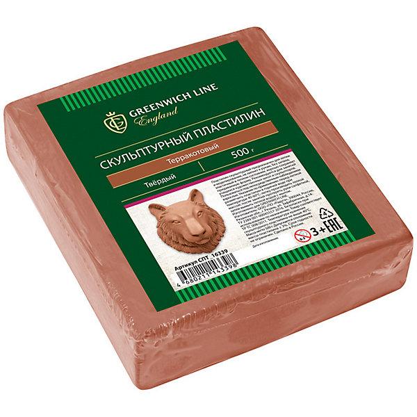 Скульптурный пластилин Greenwich Line, терракотовыйПластилин<br>Характеристики:<br><br>• возраст: от 3 лет;<br>• тип: пластилин скульптурный;<br>• цвет: терракотовый;<br>• общая масса пластилина: 500 гр.;<br>• плотность: мягкий;<br>• упаковка товара: полиэтиленовый рукав;<br>• размер упаковки: 14х16х0,23 см;<br>• вес упаковки: 550 гр.;<br>• страна бренда: Великобритания.<br><br>Скульптурный пластилин Greenwich Line (Гринвич Лайн) предназначен для создания предметов интерьера, аппликаций и картин. Не имеет запаха, не токсичен. Пластилин держит форму, устойчив к перепадам температуры, не оставляет пятен и не липнет к рукам.<br><br>Скульптурный пластилин Greenwich Line (Гринвич Лайн), терракотовый можно купить в нашем интернет-магазине.<br>Ширина мм: 140; Глубина мм: 160; Высота мм: 23; Вес г: 550; Возраст от месяцев: 36; Возраст до месяцев: 2147483647; Пол: Унисекс; Возраст: Детский; SKU: 8276596;