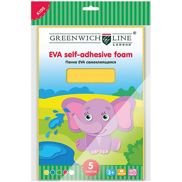Greenwich Line Набор для аппликации Greenwich Line «Пенка EVA» А4 5 листов greenwich line набор для рисования скетча greenwich line жирафы