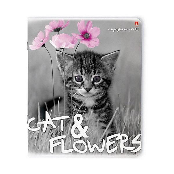Альт Тетрадь Альт и цветы 48 листов, 5 шт., клетка