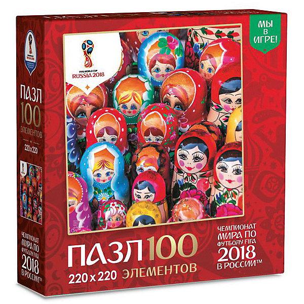 Origami Пазл Origami FIFA-2018 Матрёшки Красочные матрёшки, 100 элементов origami пазл origami fifa 2018 города сочи 100 элементов