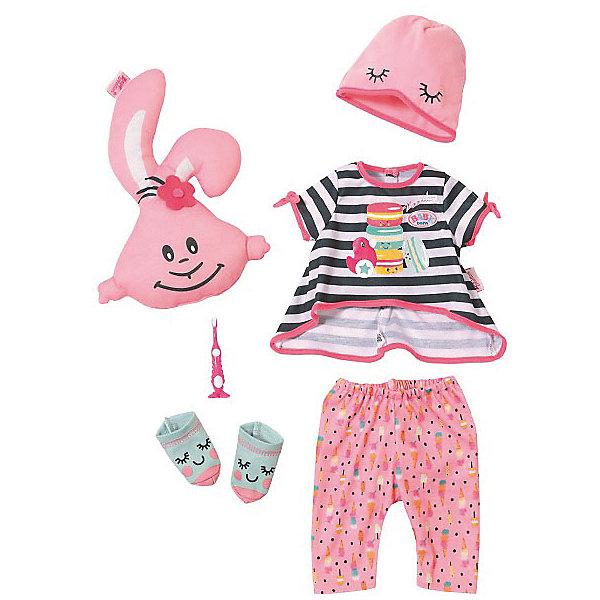 Zapf Creation Одежда для куклы Baby born Пижамная вечеринка