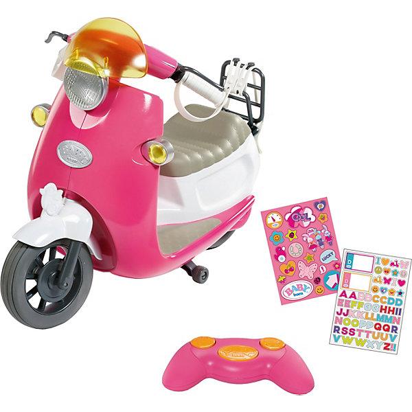 Zapf Creation Транспорт для куклы Zapf Creation Baby born Скутер на радиоуправлении цена