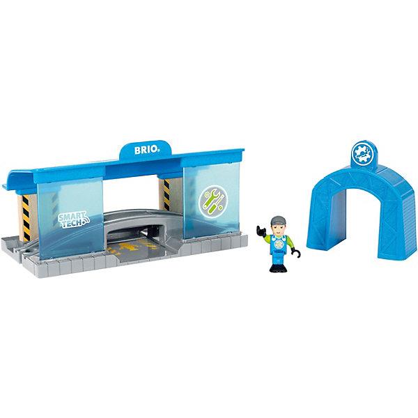 BRIO Игровой набор Brio Smart Tech Вагоноремонтная мастерская
