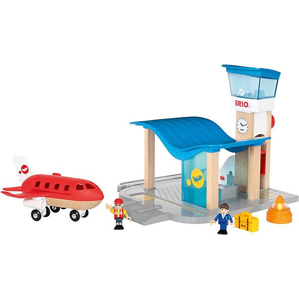 BRIO Игровой набор Brio Аэропорт и Командно-диспетчерский пункт