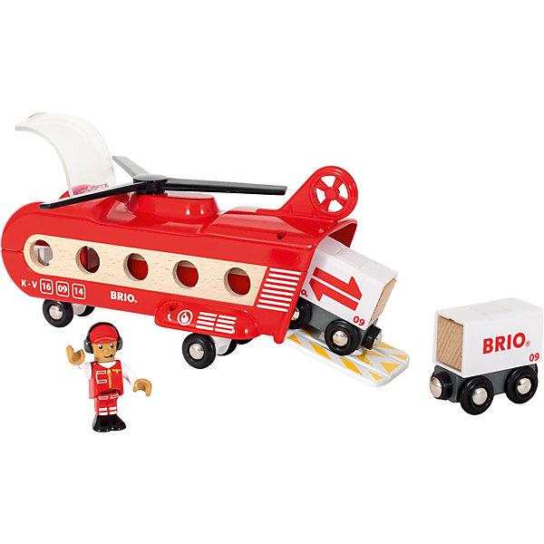 BRIO Игровой набор Brio Грузовой вертолёт с вагонами