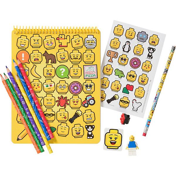 LEGO Канцелярский набор для рисования LEGO iconic (смайлик) staff канцелярский набор омега эконом 15 предметов