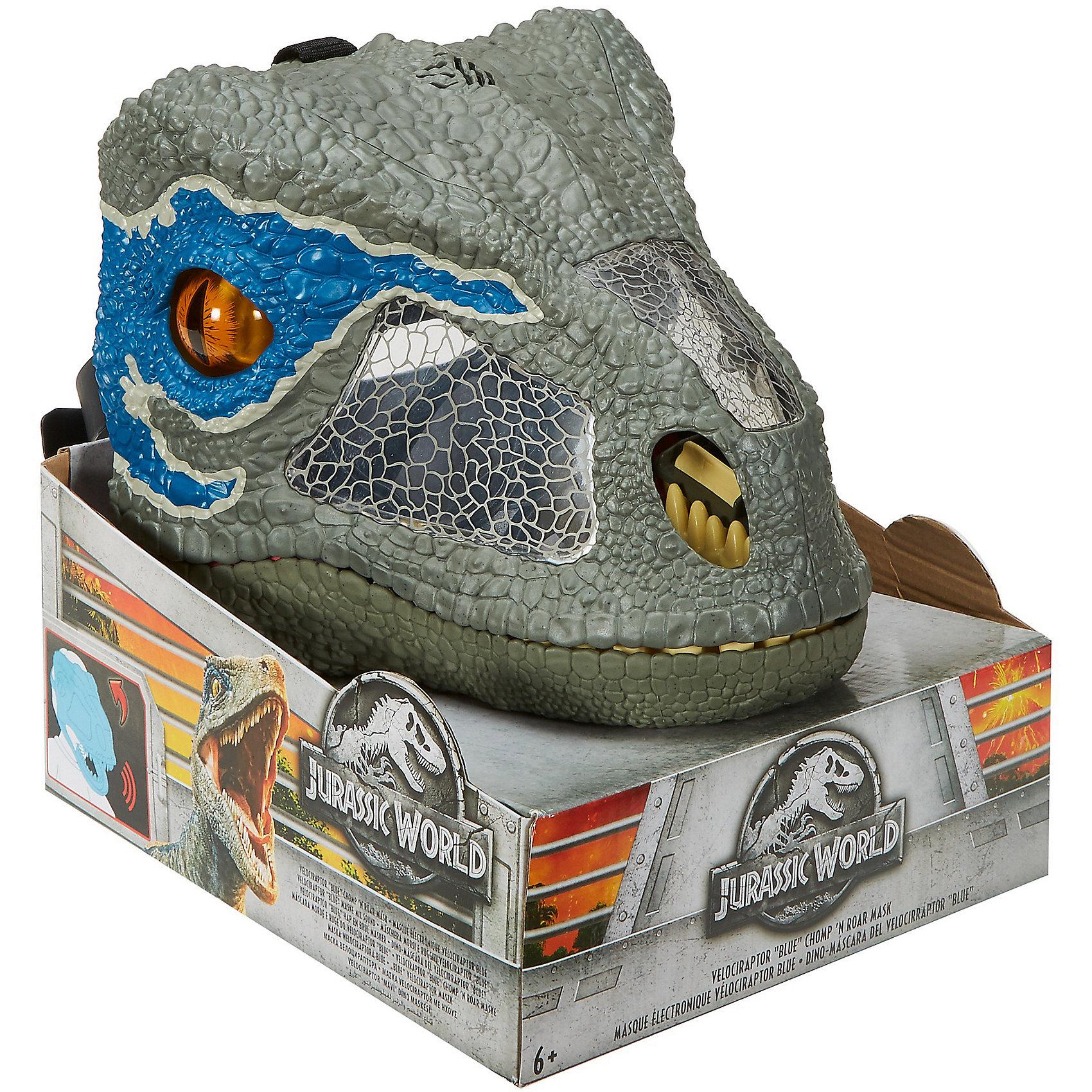 Mattel / Jurassic World® Рычащая супер маска
