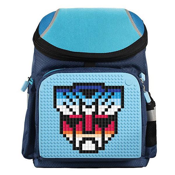 Рюкзак школьный Upixel «Super Class school bag», темно-синийРюкзаки<br>Характеристики:<br><br>? возраст: от 5 лет;<br>? тип: рюкзак;<br>? материал: 100% полиэстер;<br>? подкладка: 100% полиэстер;<br>? панель: 100% силикон;<br>? вместимость: 7 литров;<br>? цвет: темно-синий;<br>? пиксели: 120 шт;<br>? поверхность: 31 ряда, 26 линий;<br>? количество точек: 792;<br>? размер товара: 15х26х36 см;<br>? вес упаковки: 930 г.<br><br>Школьный рюкзак Upixel «Super Class school bag» (Юпиксел Супер Класс скул бег), обладающий силиконовой панелью, на которой с помощью «пикселей» в виде мозаики возможно выложить абсолютно любой рисунок.<br><br>Представленный товар сертифицирован и создан из экологически чистых материалов. В основу технологии положен пищевой силикон, который не деформируется и легко перерабатывается.<br><br>Пространство рюкзака разделено на 3 части. Имеются боковые и передние кармашки. По бокам расположены светоотражающие элементы. За счет жесткой ортопедической спинки снижено напряжение на позвоночник.<br><br>Качество же материала с его водонепроницаемым свойством позволит сохранить в целости учебники при влажной, снежной погоде. Маленькие пиксели (фишки) разноцветные, 120 шт. Фирменный буклет с возможными вариантами изображений. Поле 31 ряда 26 линий, 792 точки крепления. Для  воплощения  своих  фантазий  можно  докупать  пиксельные  фишки  размера  7х7 мм  или  готовые  наборы  картинок  с  фишками аналогичного  размера. <br><br>Школьный рюкзак Upixel «Super Class school bag» (Юпиксел Супер Класс скул бег), темно-синий можно купить в нашем интернет-магазине.<br>Ширина мм: 150; Глубина мм: 260; Высота мм: 360; Вес г: 930; Цвет: темно-синий; Возраст от месяцев: 60; Возраст до месяцев: 2147483647; Пол: Мужской; Возраст: Детский; SKU: 8291054;