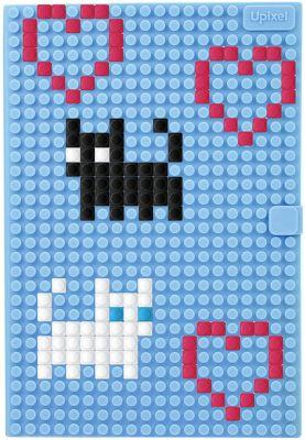 Пиксельный блокнот Upixel «notebook», голуьой, артикул:8291118 - Бумажная продукция