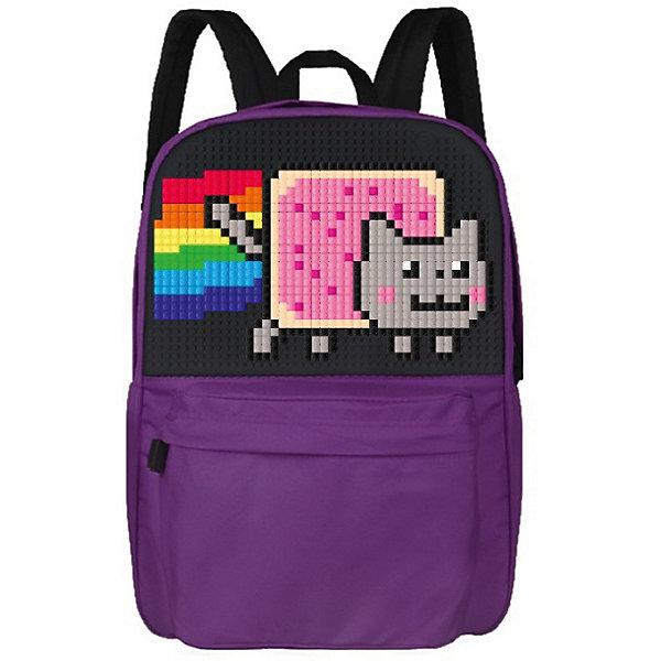 Школьный рюкзак Upixel «Classic school pixel backpack», фиолетовыйРюкзаки<br>Характеристики:<br><br>• возраст: от 6 лет;<br>• цвет: фиолетовый;<br>• материал: полиэстер, силикон;<br>• вид застежки: молния;<br>• особенности: анатомические лямки, водоотталкивающая пропитка, воздухопроницаемая спинка;<br>• комплект: 120 пикселей 7х7мм;<br>• количество внутренних отделений: 2;<br>• габариты рюкзака: 22х36х43 см;<br>• вес рюкзака: 700 гр.;<br>• страна бренда: Китай.<br><br>Школьный рюкзак Upixel «Classic school pixel backpack» (Юпиксел Классик Скоол Пиксель Бакпак) адаптирован для школы и для повседневного ношения. При создании рисунка можно воспользоваться идеями из буклета или сделать собственную композицию. Поле для крепления пикселей состоит из 1274 точек крепления: ряд из 43, линия из 30.<br><br>Для  воплощения  своих  фантазий  можно  докупать  пиксельные  фишки  размера  7х7 мм  или  готовые  наборы  картинок  с  фишками аналогичного  размера.<br><br>Школьный рюкзак Upixel «Classic school pixel backpack» (Юпиксел Классик Скоол Пиксель Бакпак), фиолетовый можно приобрести в нашем интернет-магазине.<br>Ширина мм: 220; Глубина мм: 360; Высота мм: 430; Вес г: 700; Цвет: фиолетовый; Возраст от месяцев: 60; Возраст до месяцев: 2147483647; Пол: Унисекс; Возраст: Детский; SKU: 8291128;
