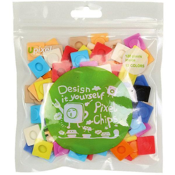 Пиксели большие UpixelАксессуары для ранцев и рюкзаков<br>Характеристики:<br><br>• возраст: от 3 лет;<br>• цвет: ассорти;<br>• материал: силикон;<br>• комплект: 120 пикселей 13х13 мм; <br>• размер изделия: 10х7х2 см;<br>• упаковка: пакет;<br>• вес набора: 20 гр;<br>• страна бренда: Китай.<br><br>Пиксели большие Upixel - главная составляющая в пиксельном творчестве, это специальные фишки, с помощью которых создаются целые полотна из ваших креативных идей. Каждый квадратик это важный элемент вашего силиконового холста на рюкзаке, сумке, чехле, кошельке или Пенале.<br><br>Пиксели большие Upixel, ассорти можно приобрести в нашем интернет-магазине.<br>Ширина мм: 100; Глубина мм: 70; Высота мм: 20; Вес г: 20; Цвет: разноцветный; Возраст от месяцев: 60; Возраст до месяцев: 2147483647; Пол: Унисекс; Возраст: Детский; SKU: 8291132;