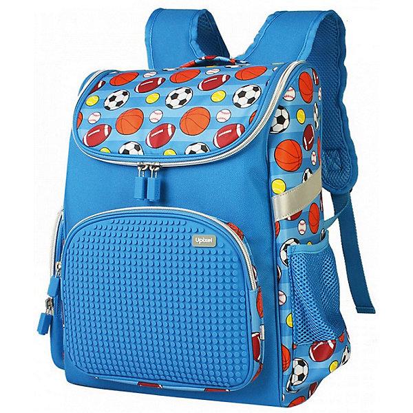 Купить Школьный рюкзак Upixel «Game High», голубой, Китай, синий, Унисекс