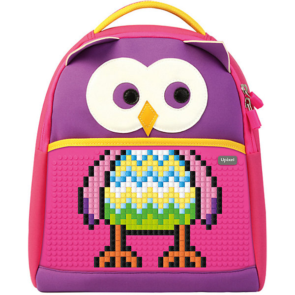 Upixel Школьный рюкзак Upixel «The Owl», фуксия пенал upixel 80782 фуксия