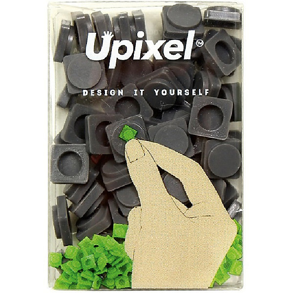Пиксели маленькие Upixel, темно серыйАксессуары для ранцев и рюкзаков<br>Характеристики:<br><br>• возраст: от 3 лет;<br>• цвет: темно серый;<br>• материал: силикон;<br>• комплект: 80 пикселей 7х7 мм;<br>• размер изделия: 10х3,5х5 см;<br>• упаковка: прозрачная пластиковая коробка;<br>• вес набора: 8 гр.;<br>• страна бренда: Китай.<br><br>Пиксели маленькие Upixel - это часть безграничного пиксельного мира, так как ограничением может стать лишь ваша фантазия, которая сопоставима только с размерами вселенной. Воплощайте свои творческие идеи пиксель за пикселем на силиконовых полотнах.<br><br>Пиксели маленькие Upixel, темно серый можно приобрести в нашем интернет-магазине.<br>Ширина мм: 10; Глубина мм: 35; Высота мм: 50; Вес г: 8; Цвет: серый; Возраст от месяцев: 60; Возраст до месяцев: 2147483647; Пол: Унисекс; Возраст: Детский; SKU: 8291164;