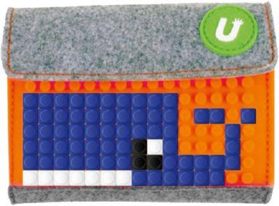 Пиксельный кошелек Upixel «Pixel felt small wallet», светло оранжевый, артикул:8291172 - Кошельки